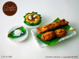 Bibingka, Turon at Banana Cue by CreativeAbubot