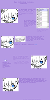 SAI eye coloring tutorial by Sigity
