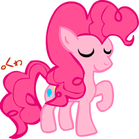Pinkie Pie doodle by clyvore