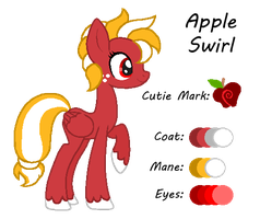 MLP:Apple Swirl Profile by kiananuva12
