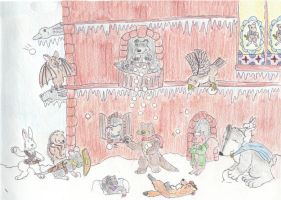 Redwall Snowball Smackdown by Traxer