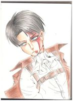 Levi Ackerman by iFell-intoTheSky