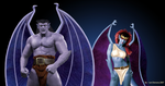 Goliath and Demona Live action by iamdemona