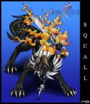 Squall as wolf by DRagonka