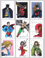 DC Legacy Sketch Cards L by tonyperna