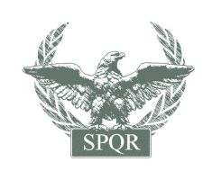 Roman Eagle SPQR by crazyYoda