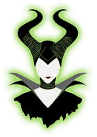 .:Maleficent minimalist:. by EmeraldSora