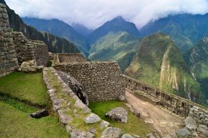 Machu Picchu - Valley sight by LLukeBE