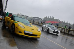 Corvette with GTR by Thaumaturgist-Dave