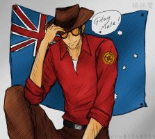 __TF2: Happy Australia Day 2012__ by xCheckmate