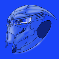 True Blue Turian by virgiliArt