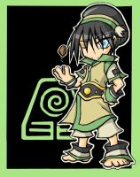 Toph Chibi colab by RogueRider