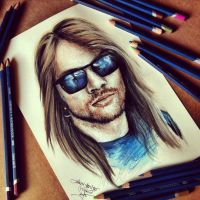Axl Rose by Cleicha