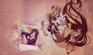 Pandora Hearts- Alice Wallpaper -Collab by demeters