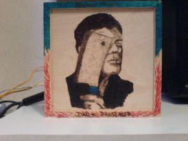 Dexter Pyrography by skullfaced