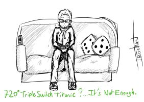 A friend who like his PS3 [RoughSketch] by ImmortalAngelSanctum