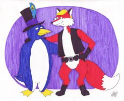 The Penguin and the Fox by EmperorNortonII