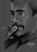 Robert Downey Jr. by DafnaWinchester