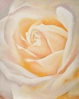 Antique rose small by Cora-Tiana