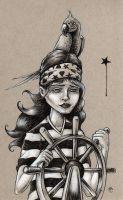 Pirate Girl by bryancollins