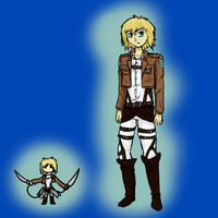 I love Armin dont hate me pls by TlMBER