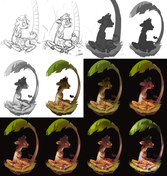 Lola's New Tree [WIP] by AssasinMonkey