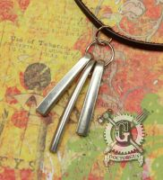 Fork Tine Pendant Necklace by Doctor-Gus