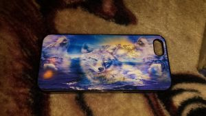 Wolf phone case by Akitas237collections