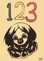123 by yard-clown