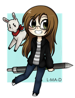 Chibi me by Mr-Lucy