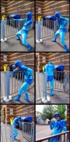 Smart Blue Beetle is smart by Lakonnia