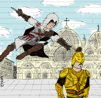 Assassin's Creed II by marcobrunez