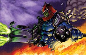 Trapjaw Colors - Battle Artist by BDStevens
