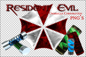 Umbrella Corp. PNG's by devilMisao