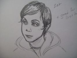 Frank Iero- the first try by pistol-paintbrush493