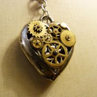 mechanical heart II by sox08