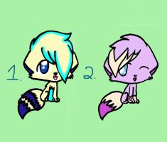 Adoptables Set 1! by Dracosia