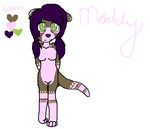 Maddy The Otter by BuruTheWolf