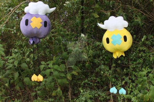 FOR SALE: Drifloon and Shiny Drifloon 2.0 by A-chan--Creations