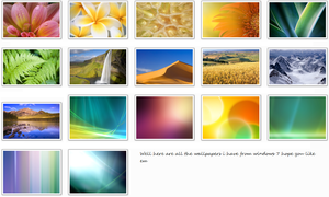 Windows 7 wallpapers by tonev