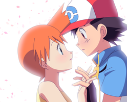 Pokeshipping by KurumiErika