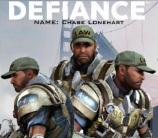 Defiance - Chase Lonehart (aka My Arkhunter) by codebreaker2001