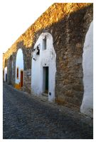 Evora Old Houses by FilipaGrilo
