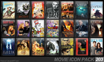 Movie Icon Pack 203 by FirstLine1