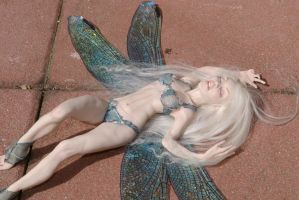Look what I found in the garden!? OOAK doll sculpt by lonewings