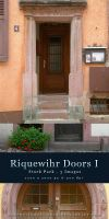 Riquewihr Doors I - stock pack by kuschelirmel-stock