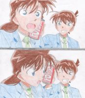 Ran And Shinichi by CNStar92