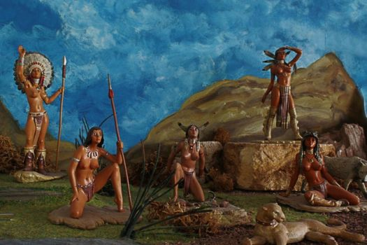 Native - Female - Americans by blindguard