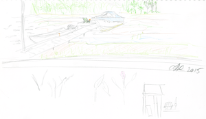 Bambe Cottage Sketch 1 by AdamTSC
