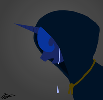 Tears of the moon (minimalistic ) by Antnoob